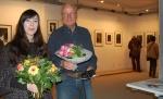 "Eröffnung geschafft. Bis zum 4. Juli 2014 zeigt die Bürgergalerie Neumünster Farah Willem ""Le degré d´incertitude - Der Grad der Unsicherheit"""