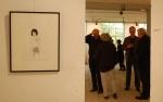 """""""Les Menstrues"""" aus der Serie """"Neigen des weißen Lotus"""" Farah Willem — hier: Bürgergalerie Neumünster eV."""